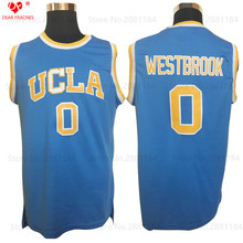College Basketball Jerseys Russell Westbrook Jersey #0 Ucla Throwback Basketball Jerseys Retro Uniforms Stitched Basket Shirts