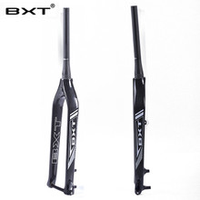 2017 new 29er carbon fork mtb Chinese cheap racing used downhill bike forks carbon cyclocross fork  tapered bicycle fork