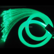 Free shipping 0.75mm 100pcs X 2Meters PMMA plastic fiber optic for all kind led light engine source, good lighting leading