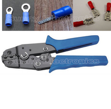Insulated Terminals Crimping Tool 0.5-2.5 sq mm For Splice Crimp Connector SPADE TERMINALS ring Terminal Plier(China)