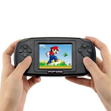 2017 szKosTon Hot Sale Childhood Classic Game Player With more than 168 Games 3.0 Inch 8-Bit PVP Portable Handheld Game Console(China)