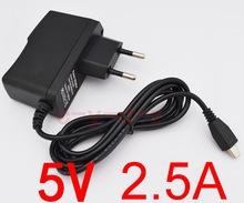 1pcs Universal 5V 2.5A Micro USB Charger Power Adapter Supply for Tablet PC Teclast P85 X98 Air 3G P88 Dual Core Onda V975m V973(China)