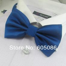 fashion solid color polyester mens bow ties 2016 butterfly neckties gifts for men