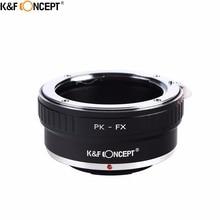 K&F CONCEPT PK-FX Camera Lens Adapter Ring Pentax PK K Mount Lens Fujifilm X Mount Camera Fuji FX X-Pro1 X-E1 X-M1