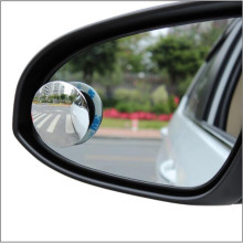 2pcs Car Blind Spot Mirror HD Glass 360 Degree Car Mirror Wide Angle Round Convex For Rear View Mirror Rearview Mirror Sticker