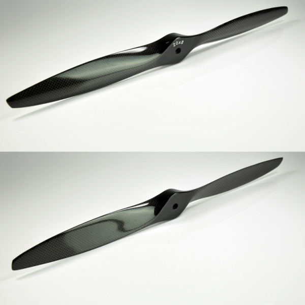 Carbon Fiber Propeller For RC Fixed Wing Gasoline Engine Airplane 16x8 17x6 17x8 18x8 18x10 19x6 19x8 20x6 20x8 20x10 22x8 22x10<br>
