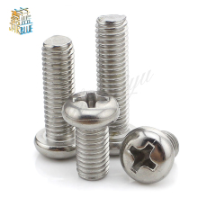 100pcs M1 M1.2 M1.4 m1.6 M2 DIN7985 Stainless Steel Cross Recessed Pan Head Screws Phillips Screws(China)