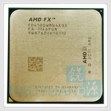 AMD FX4100 3.6GHz Quad-Core CPU Processor FX 4100 FD4100WMW4KGU 95W Socket AM3+(China)