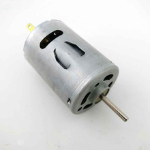 RS-380SH Mini DC High-speed Motor, can used for  DIY Mini Drilling Machine.