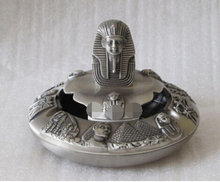 Tut Europe type restoring ancient ways of ancient Egypt with cover metal ashtray decoration bronze factory outlets