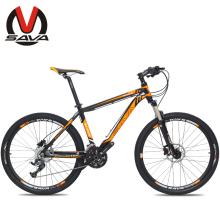 "SAVA 27S Speed 26"" Mountain Bike Bicycle-M1 Aluminum Alloy MTB Bicycle Bike Bicicleta SHIMANO Parts Hydraulic Brake 3 Colors(China)"