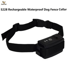 JANPET Replacement Dog Fence Collar Rechargeable Waterproof for Invisible Pet Fencing System S228/W227/W227B/023