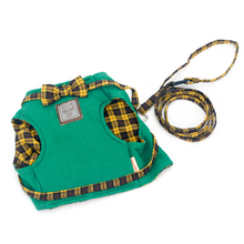 Practical Boutique HOOPET Cat Harnesses Cat Traction Kit Elegant British Style Jacket + Leash Set Fun Bow Quality Fabrics Good