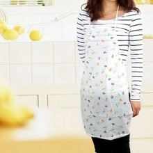 Multi-functional waterproof and oil domestic printing apron free shipping