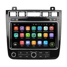"Quad Core HD 2 din 8"" Android 5.1 Car Radio DVD GPS for Volkswagen Touareg 2015 2016 With 3G WIFI Bluetooth TV USB DVR 16GB ROM(China)"