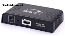 kebidumei HDMI to Scart converter HDMI input +Scart output Audio splitter adapter For Blue Ray DVD STB SKY TV(China)