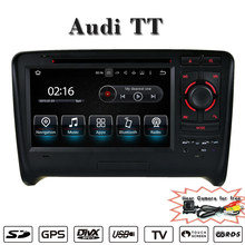 Support Carplay Anti-Glare android 5.1/7.1 car dvd player for audi TT navigation wifi connection,3g internet gps android(China)
