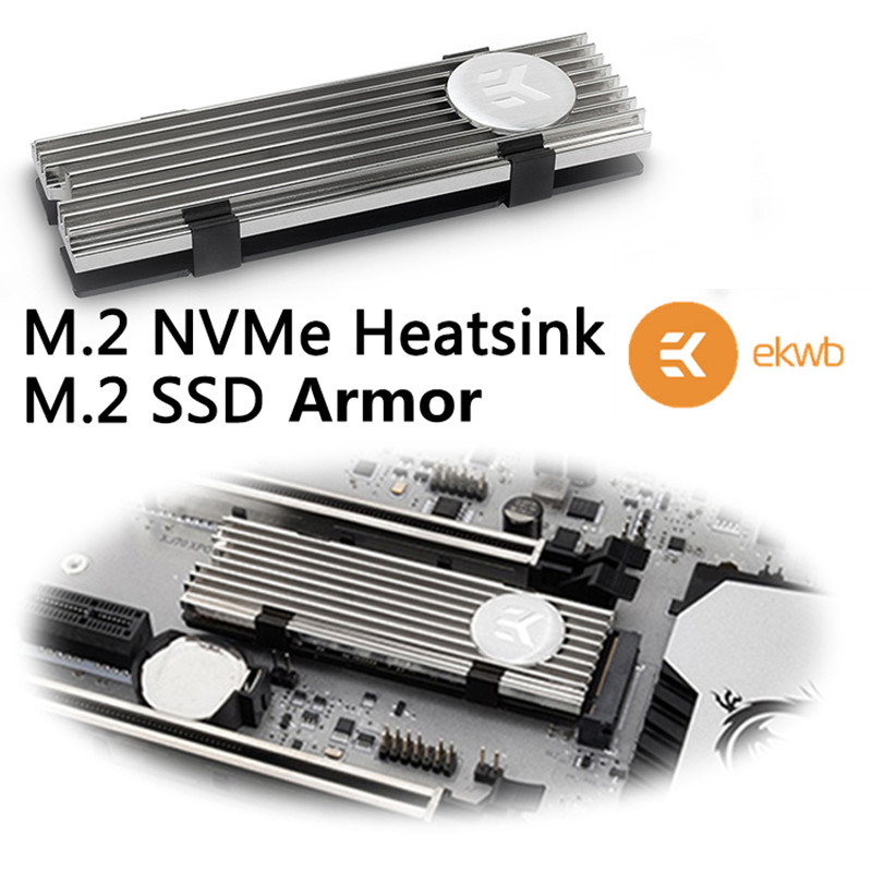 Computer system cooling Heatsink for SSD Solid State Drive Heat Sink/Armor<br>