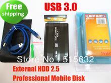 "New edition 2.5"" USB 3.0 HDD Case Hard Drive SATA External Enclosure Box high quality(China)"