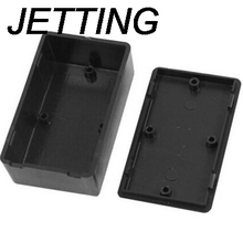 JETTING 1 PCS 100x60x25mm Black DIY Enclosure Instrument Case Plastic Electronic Project Box Electrical Supplies