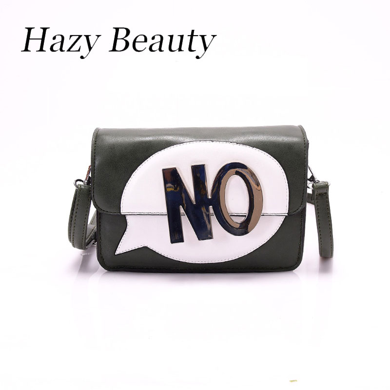 Hazy beauty New NO letterS women funny flap super chic cross body lady handbag easy matching girls word game stylish  bags DH493<br><br>Aliexpress