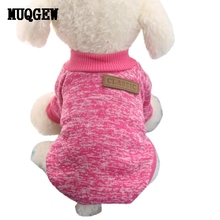 MUQGEW Hot Sale Pet Dog Clothes For Small Dogs Winter Warm Coat Sweater Puppy Chihuahua Cheap Clothing Roupa Para Cachorro