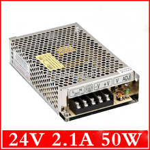 (S-50-24) Professional switching power supply manufacturer 50W 24volt power smps 24v 2a(China)