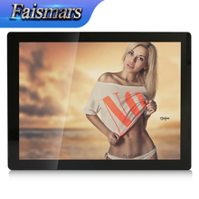 "M121-EF01C/Faismars 12.1 inch 1024x768 Capacitive Touch Industrial Monitor 12.1"" Metal&Aluminum Case Touchscreen Monitor PC(China)"