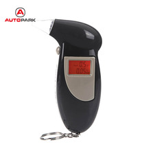 alcohol tester professional digital breath alkohol tester LCD Display alcohol breath tester Breathalyzer Analyzer Detector(China)