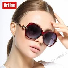 Luxury brand designer sunglasses women UV400 polarized round men sun glasses fancy temple morden design  oversized M8077