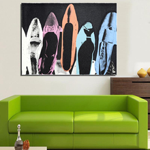 Andy Warhol Diamond Dust Shoes 1980 pop art print Wall Painting picture Home abstract Decorative Art Picture 56072377(China)