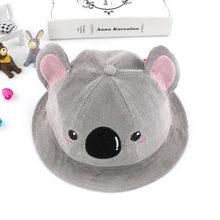 De invierno de bebé de algodón de primavera sombrero de cubo Koala lindo  patrón de orejas 1eff1537429