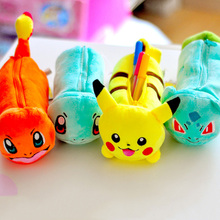 (1Pc/Sell) Kawaii Pokemon Pencil Case School Supplies Bts Stationery Gift Estuches School Cute Pencil Box Pencilcase Pencil Bag
