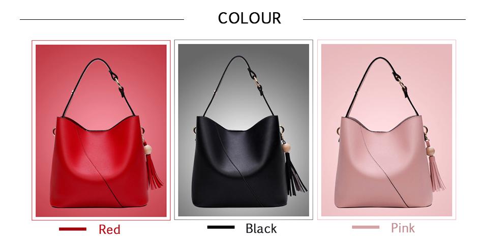 Leather Bag Luxury PU Women Shoulder Bags Handbag Brand Designer Bags New 17 Fashion Ladies Hand Bag Women's Bolsa Feminina 4