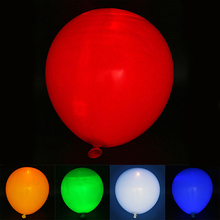 2016 5 Pcs Christmas LED Flashing Hellium Ballons Birthday Wedding Decoration Light