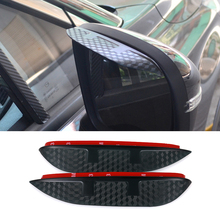 Buy Car Styling Carbon rearview mirror rain eyebrow Rainproof Flexible Blade Protector Accessory TOYOTA COROLLA 2008-2011 for $9.95 in AliExpress store