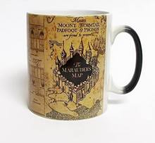 Creative Gifts Magic Mugs Harry Hot Drink Cup Color Changing Mug Potter Marauders Map Mischief Managed Wine Tea Cup