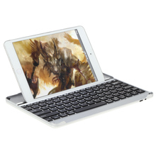 professional Wireless Bluetooth Keyboard Ultra Slim with Built-in Stand Groove for Apple iPad Air 2 3 4 tablets laptop pc(China)