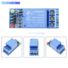 5V Low Level Trigger One 1 Channel Relay Module DC AC 220V Interface Relay Board Shield for Arduino(China)