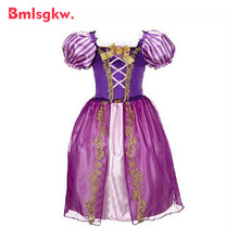 Girls Dress Children Snow White Princess Dresses Rapunzel Aurora Kids Party Halloween Costume Clothes Christmas Dresses Minnie