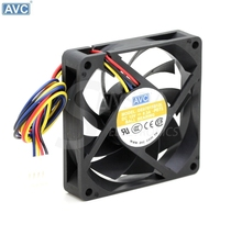 AVC DE07015B12L 7cm 70*70*15mm 70mm computer case cpu cooling fans 12V 0. 3A 7CM 7015 cooler(China)
