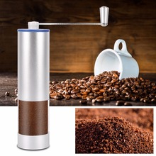 Portable Coffee Maker Professional Coffee Grinder 25g Powder Capacity Aluminum Alloy Coffee Grinding Machine