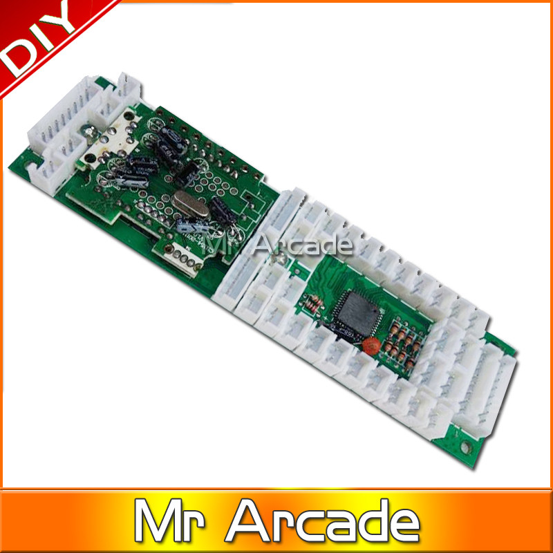 free shipping 2 in 1 chip computer chip For PS3-XBOX360 arcade joystick combo PCB with all wires<br><br>Aliexpress