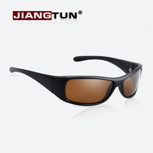 JIANGTUN New Stylish Sunglasses Polarized Glasses Black Brown Super Cool Brand Designer Eyewear Driving Accessories(China)