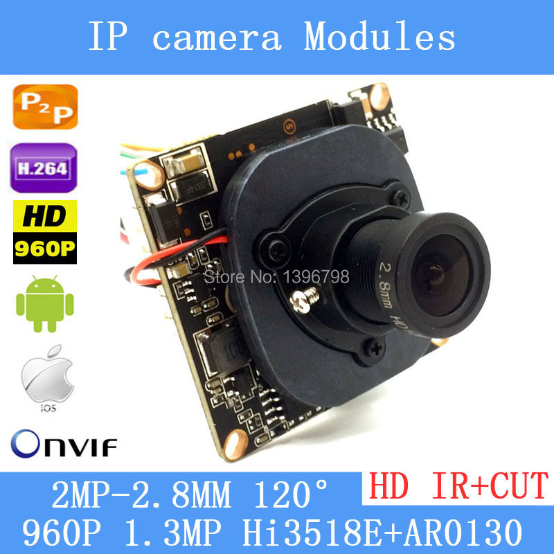 Mini HD 960P IP Camera Audio Input With Pickup Microphone 1.3MP Security Camera module IP Audio ONVIF P2P IP Cam<br><br>Aliexpress