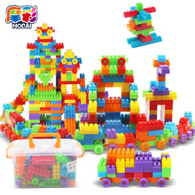 Kids Boy/girls Large Particles of Plastic Fight Pieces of Wood Children Early Education Puzzle Assembled Toys Assembled Blocks