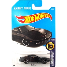 New Arrivals 2017 Hot Wheels KITT KNIGHT RIDER Metal Diecast Cars Collection Kids Toys Vehicle For Children Juguetes(China)