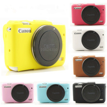 Buy High Nice Soft Silicone Rubber Camera Protective Body Cover Case Skin Camera case bag canon EOS M10 Leather Case Bag for $5.81 in AliExpress store