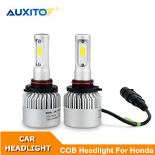 2X For Honda Civic Accord Crv Fit Jazz City Hrv 9005 9006 H11 9003 Car LED Headlight Bulb 16000LM LED Auto Headlamp Replacement