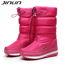 New 2016 women's boots winter women snow boots  thick outdoor non-slip waterproof snow boots for women botas mujer bota feminina
